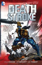 Couverture Legacy - Deathstroke, tome 1