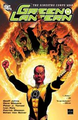 Couverture The Sinestro Corps War Vol. 1 - Green Lantern (2005), tome 4