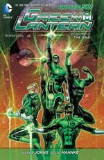 Couverture The End - Green Lantern, tome 3