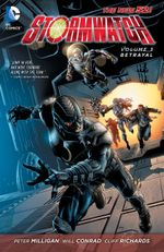 Couverture Betrayal - Stormwatch (2011), Vol. 3