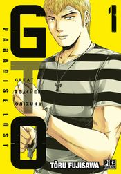 Couverture GTO Paradise Lost, tome 1