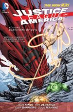 Couverture Survivors of Evil - Justice League of America, tome 2