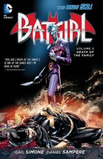 Couverture Death of the Family - Batgirl, tome 3
