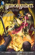 Couverture The Avalon Trap - Demon Knights, tome 2