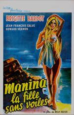 Affiche Manina, la fille sans voiles