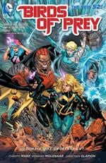 Couverture The Cruelest Cut - Birds of Prey, tome 4