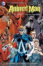 Couverture Animal Man Vol. 3: Rotworld: The Red Kingdom