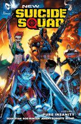 Couverture Pure Insanity - New Suicide Squad, Vol. 1