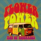 Pochette Flower Power: Age of Aquarius