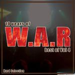 Pochette 10 years of W.A.R best of Vol 4 - Hard Selection