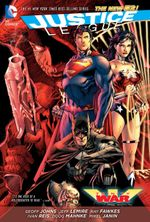 Couverture Justice League: Trinity War