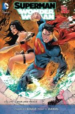 Couverture War and Peace  - Superman/Wonder Woman, tome 2