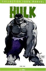 Couverture Hulk : Gris