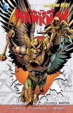 Couverture Wanted - The Savage Hawkman, tome 2