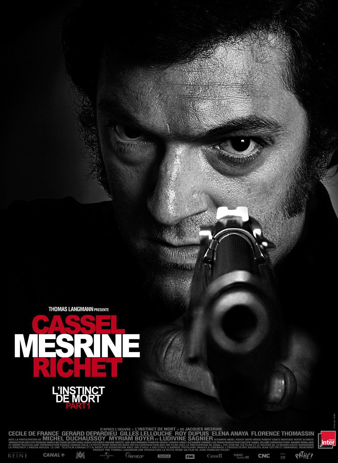 mesrine 1232re partie linstinct de mort film 2008