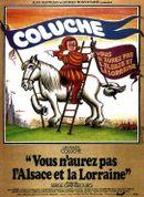Affiche Vous n'aurez pas l'Alsace et la Lorraine