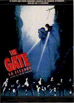 Affiche The Gate - La Fissure