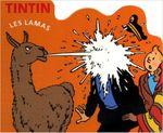 Couverture Les lamas - Tintin