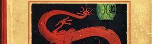 Couverture Le Lotus bleu - Les Aventures de Tintin, tome 5 (première version N&B)