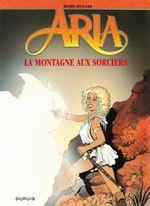Couverture Aria - Tome 2 - La montagne aux sorcières