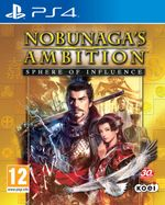 Jaquette Nobunaga's Ambition : Sphere of Influence