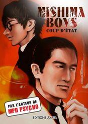 Couverture Mishima Boys, coup d'Etat