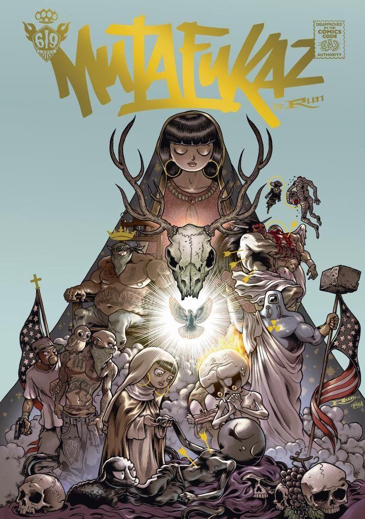 Lisez-vous des bandes dessinées / mangas / comics ? - Page 9 Mutafukaz_tome_5