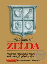 Jaquette The Legend of Zelda