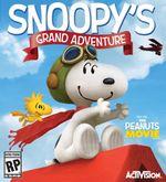 Jaquette Snoopy: La grande aventure