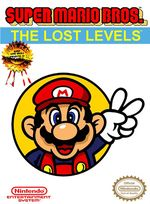 Jaquette Super Mario Bros. : The Lost Levels