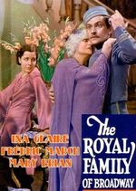 Affiche The royal family of broadway