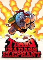 Jaquette Tembo the Badass Elephant