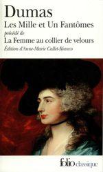 Couverture Les Mille et Un Fantômes/La Femme au collier de velours (édition enrichie)