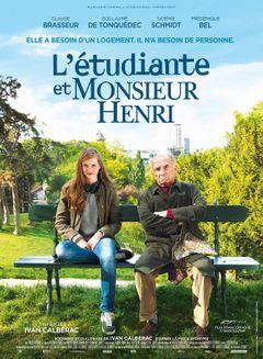 Affiche L'Etudiante et Monsieur Henri