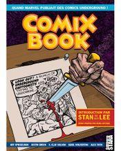 Couverture Comix Book, quand Marvel publiait des Comics underground