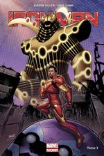 Couverture Les Origines Secrètes de Tony Stark - Iron Man (2013), tome 3