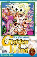 Couverture Golden Wind, Vol.9 - Jojo's Bizarre Adventure (Saison 5), tome 55