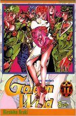 Couverture Golden Wind, Vol.11 - Jojo's Bizarre Adventure (Saison 5), tome 57