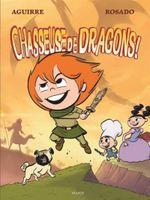 Couverture Chasseuse de dragons - Les chroniques de Claudette, tome 2