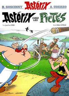 Couverture Astérix chez les Pictes - Astérix, tome 35