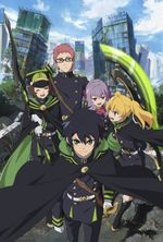 Affiche Seraph of the end 2nd season