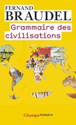 Couverture Grammaire des civilisations