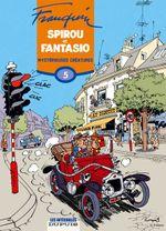 Couverture Mystérieuses créatures - Spirou et Fantasio Intégrale, tome 5