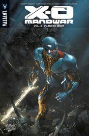 Couverture Planète Mort - X-O Manowar, tome 3