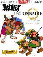 Couverture Astérix légionnaire - Astérix, tome 10