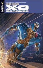 Couverture Armor Hunters - X-O Manowar, tome 7