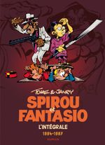 Couverture Tome & Janry 1984-1987 - Spirou et Fantasio Intégrale, tome 14