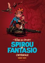 Couverture Tome & Janry 1988-1991 - Spirou et Fantasio Intégrale, tome 15