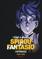 Couverture Tome & Janry 1992-1998 - Spirou et Fantasio Intégrale, tome 16