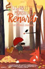 Affiche Les Fables de Monsieur Renard